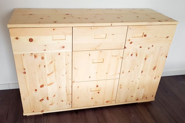 Zirbenholz-Kommode Maßanfertigung
