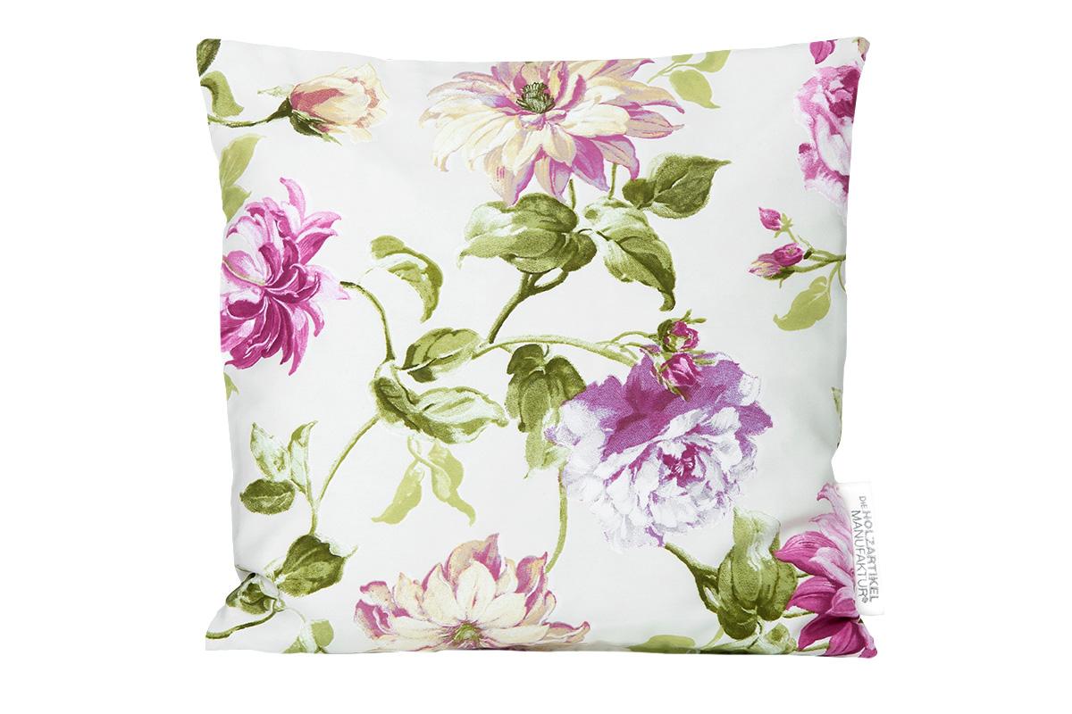 Cuscino in pino cembro fiori componenti di arredo la for Componenti di arredo